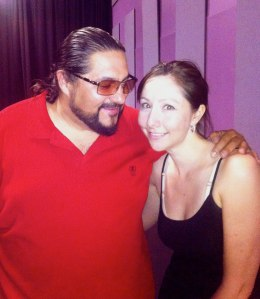 Vicente Griego and me! Loved his cante class so much, I'm going back this year!