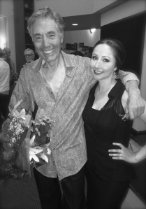 It was an honor to work with Juan Talavera. I'm a lucky gal!
